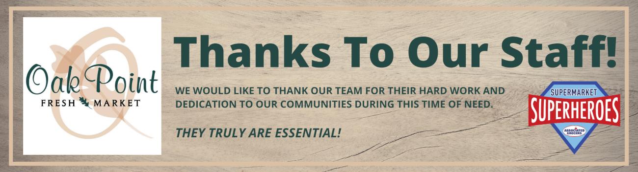 Thanks to Employees (2)