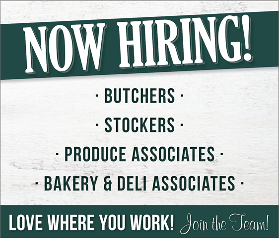 Now Hiring at Oak Point