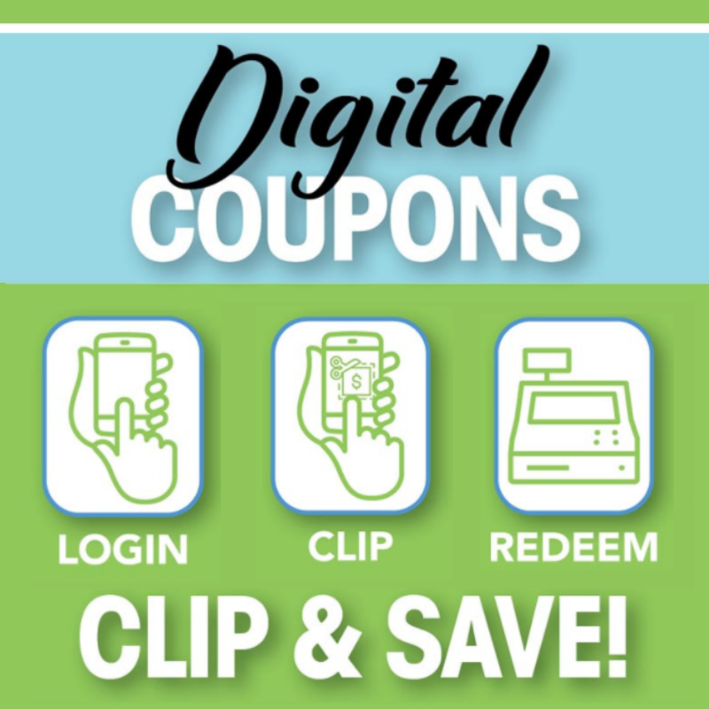 Clip & Save With Digital Coupons